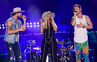 10 June 2018 - Nashville, Tennessee - Brian Kelley, BeBe Rexha, Tyler Hubbard, Florida Georgia Line. 2018 CMA Music Fest Nightly Concert held at Nissan Stadium. <br /> CAP/ADM/LF<br /> &copy;LF/ADM/Capital Pictures