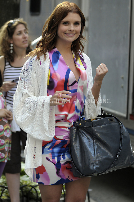 WWW.ACEPIXS.COM . . . . .  ....July 24 2009, New York City....Actress Joanna Garcia was on the set of the TV show 'Gossip Girl' on the Upper East Side on July 24 2009 in New York City....Please byline: AJ Sokalner - ACEPIXS.COM..... *** ***..Ace Pictures, Inc:  ..tel: (212) 243 8787..e-mail: info@acepixs.com..web: http://www.acepixs.com