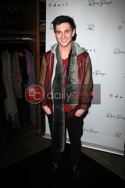 Mitchel Musso<br /> at the Launch Party for Q by Jodi Lyn O'Keefe, Dari Boutique, Studio City, CA 01-23-12<br /> David Edwards/DailyCeleb.com 818-249-4998