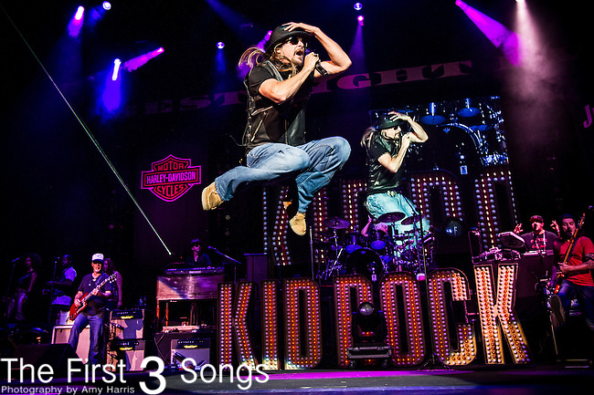 Kid Rock (Robert James Ritchie) performs at Klipsch Music Center in Indianapolis, Indiana.