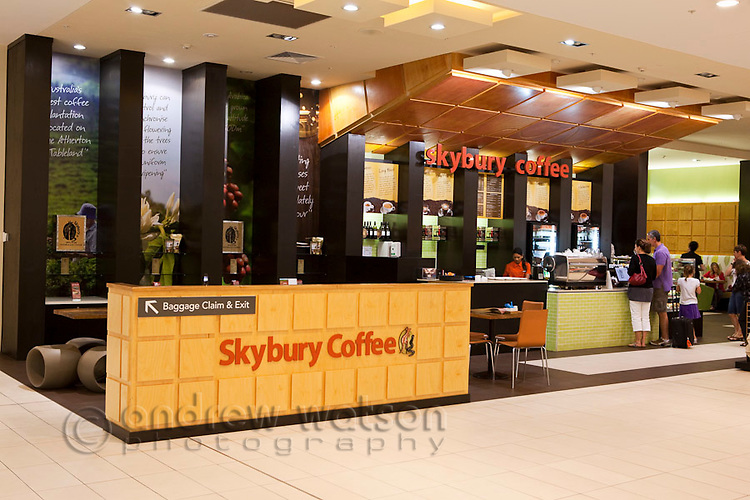 Skybury Coffee at Cairns Domestic Airport, Cairns, Queensland, Australia
