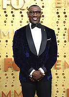 LOS ANGELES - SEPTEMBER 22:  Shannon Sharpe at the 71st Primetime Emmy Awards at the Microsoft Theatre on September 22, 2019 in Los Angeles, California. (Photo by Xavier Collin/Fox/PictureGroup)
