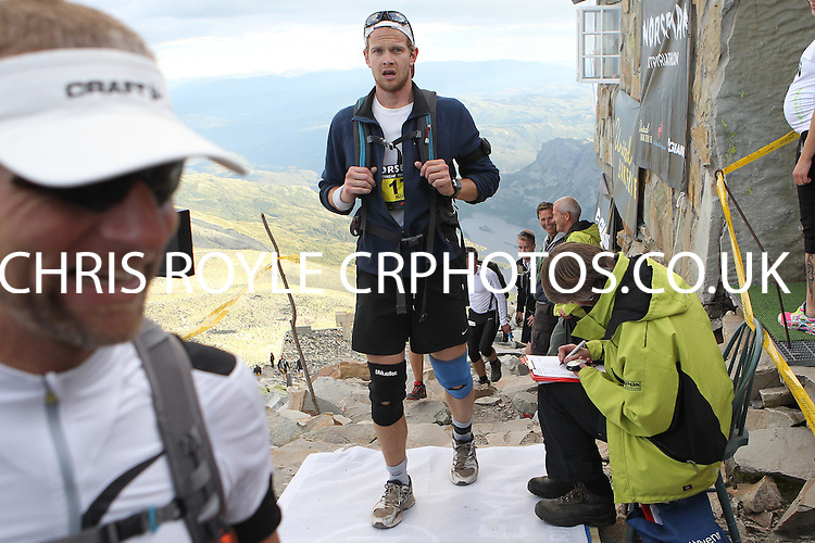 Race number 17 - Kjell Bech - Norseman Xtreme Tri 2012 - Norway - photo by chris royle/ boxingheaven@gmail.com