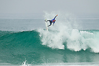 """LA GRAVIERE, Hossegor/France (Tuesday, October 11, 2011) kelly slater (USA). – Clean three-to-four foot (1 metre) lefts and rights are on offer this morning at La Graviere, prompting Quiksilver Pro France organizers to call competition back on with Round 4 commencing at 8:15am...Stop No. 8 of 11 on the 2011 ASP World Title season, the Quiksilver Pro France looks to get through Rounds 4 and 5 as well as the Quarterfinals this morning before the high tide fills in...""""Conditions look very contestable this morning and we'll be commencing with men's competition at 8:15am,"""" Rich Porta, ASP International Head Judge, said. """"We're in a race against the high tide today so we're hoping to complete 12 heats of competition before it becomes unmanageable. That said, we'll monitor the conditions throughout the morning and adjust the schedule accordingly.""""..Heat one was stopped after 14 minutes because of fog and the contest was put on hold for the next four hours waiting for the fog to lift..Round four was completed and one heat of Round five before the contest was put back on hold because of the high tide conditions. Photo: joliphotos.com"""
