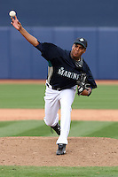 Luis Munoz-  Seattle Mariners - 2009 spring training.Photo by:  Bill Mitchell/Four Seam Images