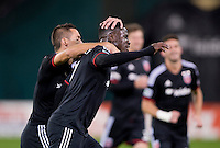Washington, DC - October 18, 2014: D.C. United defeated the Chicago Fire 2-1 at RFK Stadium.