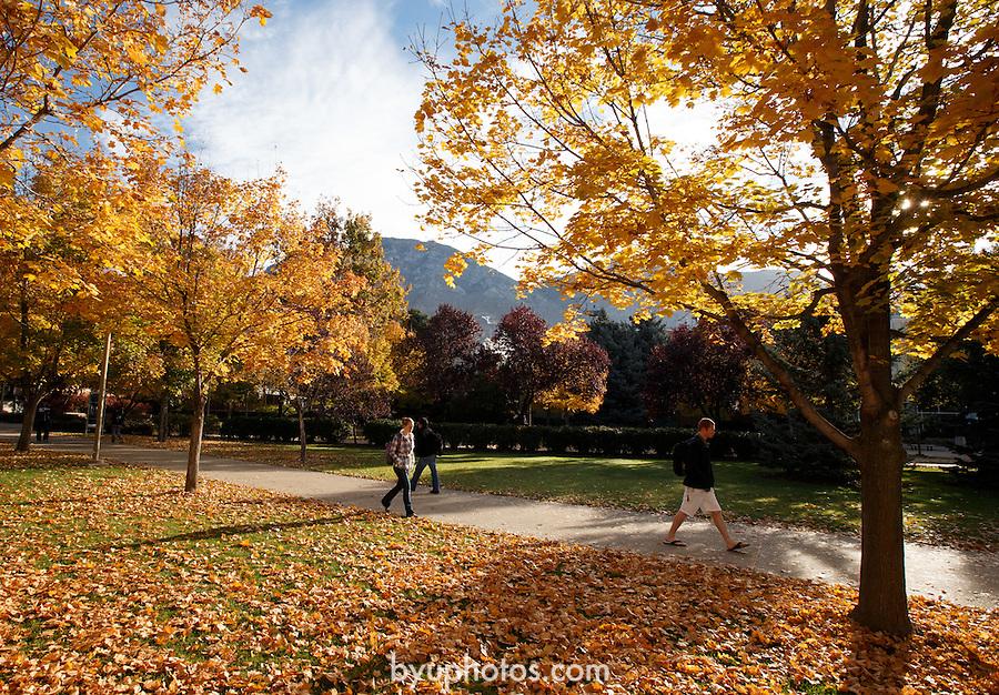 1210-62 039<br /> <br /> 1210-62 GCS Fall Campus<br /> <br /> October 29,2012<br /> <br /> Jaren Wilkey/BYU<br /> <br /> &copy; BYU PHOTO 2012<br /> All Rights Reserved<br /> photo@byu.edu  (801)422-7322