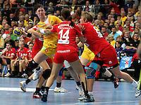Die Leipzigerinnen gewannen auch das zweite Spiel der Gruppenphase in der Champions League. Im Bild: Anne Mueller beim Angriff. Foto: Ines Christ