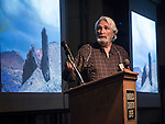 Bob Goodman, an Authentic Dinosaur (regarding digital) speaks during Friday at Shooting the West XXVII, Winnemucca, Nev.