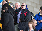 St Johnstone v Dundee United...09.05.15   SPFL<br /> Rotherham boss Steve Evans takes his place in the stands<br /> Picture by Graeme Hart.<br /> Copyright Perthshire Picture Agency<br /> Tel: 01738 623350  Mobile: 07990 594431