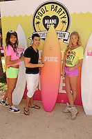 MIAMI BEACH , FL - MARCH 14: Chanel Iman Joe Jonas and Elsa Hosk attend the Victoria Secret Pink spring break party at the Shelbourne on March 14, 2012 in Miami Beach, Florida. Credit: mpi04/MediaPunch Inc