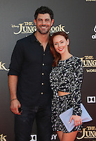 "04 April 2016 - Hollywood, California - Damon Dayoub, Emily Montague. ""The Jungle Book"" Los Angeles Premiere held at the El Capitan Theatre. Photo Credit: Sammi/AdMedia"