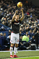 Bolton Wanderers' Pawel Olkowski takes a throw-in <br /> <br /> Photographer Andrew Kearns/CameraSport<br /> <br /> The EFL Sky Bet Championship - Sheffield Wednesday v Bolton Wanderers - Tuesday 27th November 2018 - Hillsborough - Sheffield<br /> <br /> World Copyright &copy; 2018 CameraSport. All rights reserved. 43 Linden Ave. Countesthorpe. Leicester. England. LE8 5PG - Tel: +44 (0) 116 277 4147 - admin@camerasport.com - www.camerasport.com