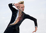 Evgeny Plyushchenko of Russia compete in the Short Program Men during the 2014 Sochi Olympic Winter Games at Iceberg Skating Palace on February 6, 2014 in Sochi, Russia. Photo by Victor Fraile / Power Sport Images