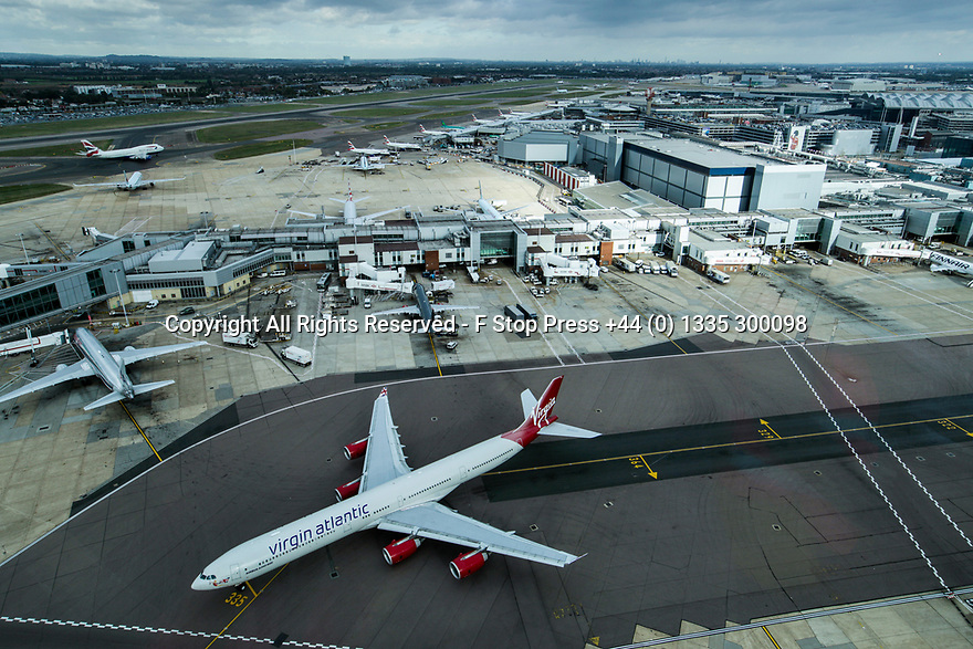 05/06/18<br /> <br /> **Undated File Photo showing general view of Heathrow Airport runways from from the control tower with central London visible on horizon **<br /> <br /> Controversial plans for a third runway at Heathrow Airport are set to be approved by ministers later after years of argument and delay.<br /> <br /> <br /> <br /> All Rights Reserved - F Stop Press +44 (0) 1335 300098