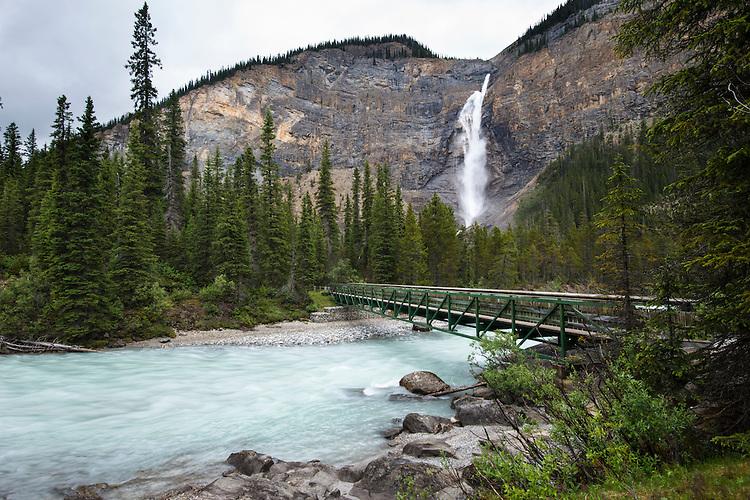 Takkakaw Falls, Yoho National Park, Alberta, Canada