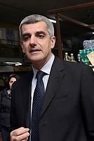 Roma, 16 Marzo 2017<br /> L'assessore al commercio e turismo Adriano Meloni<br /> Conferenza stampa al Mercato di Via Magnagrecia sul rilancio dei mercati rionali