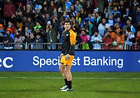 Jaguares' Tomas Cubelli during the 2019 Super Rugby final between the Crusaders and Jaguares at Orangetheory Stadium in Christchurch, New Zealand on Saturday, 6 July 2019. Photo: Dave Lintott / lintottphoto.co.nz