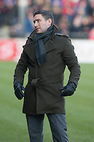 Oldham Athletic manager Lee Johnson<br />  - Scunthorpe United vs Oldham Athletic - Sky Bet League One Football at Glanford Park, Scunthorpe, Lincolnshire - 07/02/15 - MANDATORY CREDIT: Mark Hodsman/TGSPHOTO - Self billing applies where appropriate - contact@tgsphoto.co.uk - NO UNPAID USE