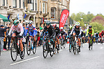 Action from a very wet Stage 1 of the 2019 ASDA Tour de Yorkshire Women's Race, running 132km from Barnsley to Bedale, Yorkshire, England.  3rd May 2019.<br /> Picture: ASO/SWPix | Cyclefile<br /> <br /> All photos usage must carry mandatory copyright credit (© Cyclefile | ASO/SWPix)