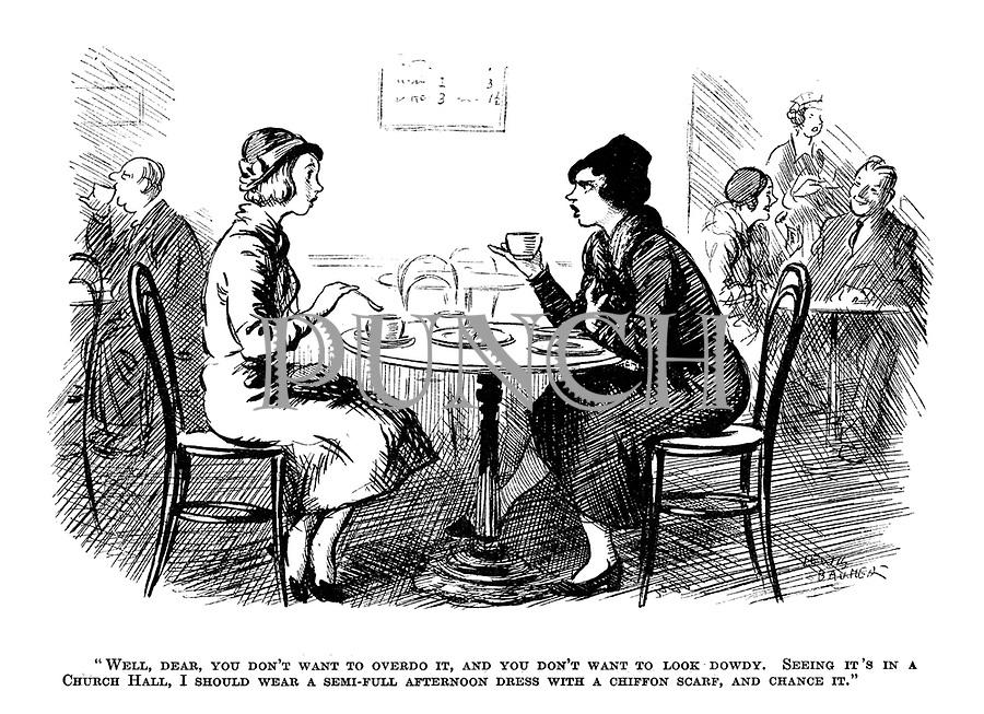 Punch Cartoons By Lewis Baumer  Punch Magazine Cartoon -4683