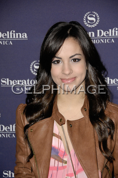 GABRIELLA RODRIGUEZ. Members from the original recording and a variety of today's stars gathered to celebrate the production of the Anniversary Collectors' Edition of the Children of the World. Santa Monica, CA, USA. February 26, 2010.