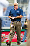 28 September 2010: Washington Nationals' General Manager Mike Rizzo observes batting practice prior to a game against the Philadelphia Phillies at Nationals Park in Washington, DC. The Nationals defeated the Phillies 2-1 on an Adam Dunn walk-off solo homer in the 9th inning to even up their 3-game series one game apiece. Mandatory Credit: Ed Wolfstein Photo