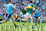 Ciaran Kilkenny, Dublin in action against David Moran, Kerry during the GAA Football All-Ireland Senior Championship Final match between Kerry and Dublin at Croke Park in Dublin on Sunday.