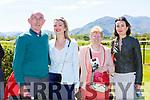 John O'Sullivan, Geraldine Mangan, Mary Ann O'sullivan Beaufort at the Killarney Races on Sunday