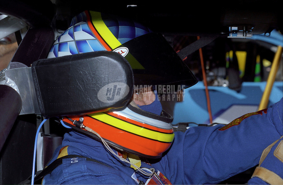 Nov. 1, 1997; Avondale, AZ, USA; NASCAR Winston Cup Series driver Kyle Petty during the Dura Lube 500 at Phoenix International Raceway. Mandatory Credit: Mark J. Rebilas-