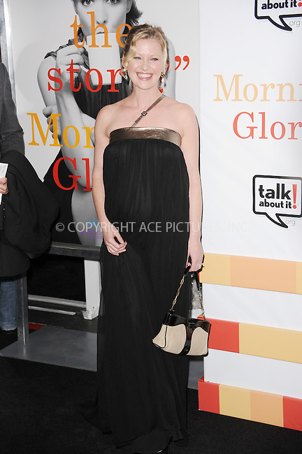 WWW.ACEPIXS.COM . . . . . .November 7, 2010...New York City.... Gretchen Mol attends the 'Morning Glory' world premiere at the Ziegfeld Theatre on November 7, 2010 in New York City.....Please byline: KRISTIN CALLAHAN - ACEPIXS.COM.. . . . . . ..Ace Pictures, Inc: ..tel: (212) 243 8787 or (646) 769 0430..e-mail: info@acepixs.com..web: http://www.acepixs.com .