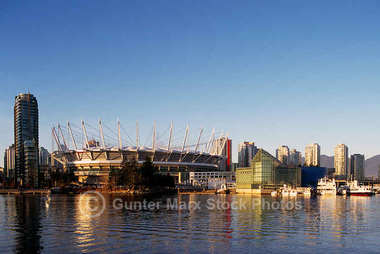new B.C. Place - Stadium at False Creek, Downtown Vancouver,.British Columbia, Canada,  Jan 2012