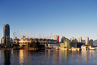 new B.C. Place - Stadium at False Creek, Downtown Vancouver,.British Columbia, Canada,  Jan 2012