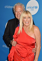 BEVERLY HILLS, CA - APRIL 14: Actress Suzanne Somers (R) and husband Alan Hamel attend the 7th Biennial UNICEF Ball at the Beverly Wilshire Four Seasons Hotel on April 14, 2018 in Beverly Hills, California.<br /> CAP/ROT/TM<br /> &copy;TM/ROT/Capital Pictures