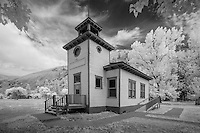 Historic School Ravalli Montana.