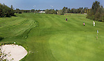 WERVERSHOOF - Hole 1, par 5. Golfbaan de Vlietlanden. COPYRIGHT KOEN SUYK