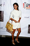 Camila Alves arrives at the launch of Camila Alves' Handbag Collection MUXO at Kitson Studio on August 7, 2008 in Los Angeles, California.