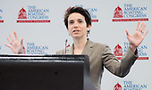 Journalist Amy Walter addresses the National Marine Manufacturers Association 's  American Boating Congress in Washington,DC.<br /> <br /> <br /> The National Marine Manufacturers Association (NMMA) is the nation&rsquo;s leading trade association representing boat, marine engine and accessory manufacturers. Collectively, NMMA members manufacture an estimated 80 percent of marine products used in North America.<br /> NMMA is a unifying force and powerful voice for the recreational boating industry, working to strengthen and grow boating and protect the interests of its member companies.<br /> <br />  <br /> PHOTOS/John Nelson