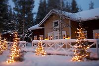Europe/Finlande/Laponie/Levi: restaurant Hullu Poro Kammi
