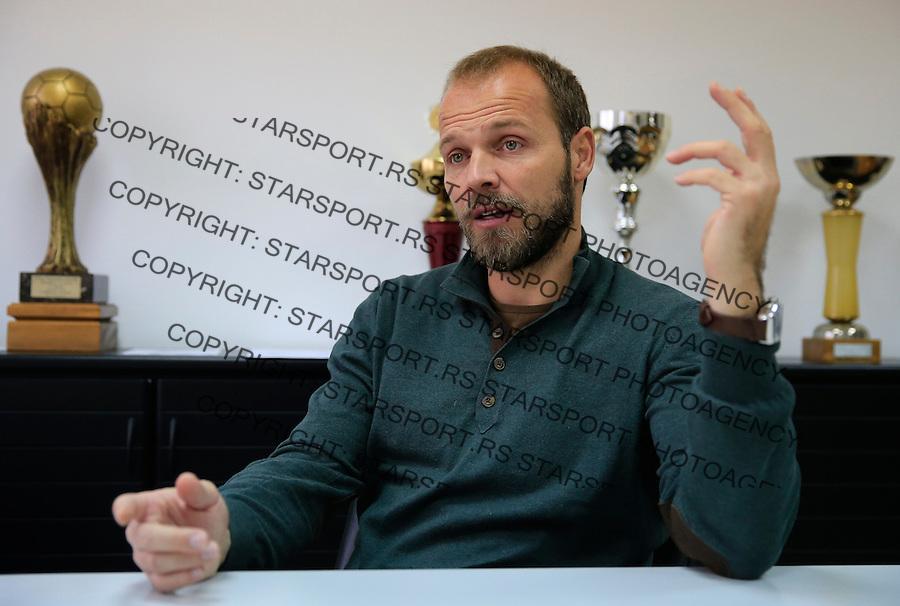 Fudbal Super League season 2015-2016<br /> FK Partizan<br /> Head coach Ivan Tomic-Interview<br /> Beograd, 28.12.2015.<br /> foto: Srdjan Stevanovic/Starsportphoto&copy;