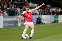 Lisa Evans of Arsenal Women during Arsenal Women vs Birmingham City Ladies, FA Women's Super League Football at Meadow Park on 4th November 2018