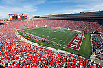 A general view of Camp Randall Stadium during the Wisconsin Badgers NCAA college football game against the Austin Peay Governors on September 25, 2010 in Madison, Wisconsin. The Badgers beat the Governors 70-3. (Photo by David Stluka)