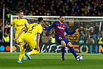 27th November 2019; Camp Nou, Barcelona, Catalonia, Spain; UEFA Champions League Football, Barcelona versus Borussia Dortmund; picture show Lenglet