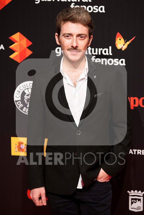 Victor Clavijo attends to the cocktail presentation of the XIX Malaga Film Festival at Circulo de Bellas Artes in Madrid. April 06, 2016. (ALTERPHOTOS/Borja B.Hojas)