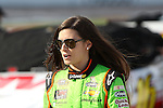 Sprint Cup Series driver Danica Patrick (10) in action during the Nascar Sprint Cup Series qualifying session at Texas Motor Speedway in Fort Worth,Texas.