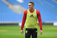 Connor Roberts of Wales during the Wales Training Session at the Cardiff City Stadium in Cardiff, Wales, UK. Thursday 15 November 2018