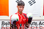 Sean Sookarry, CBS student and from the Blackbelt Academy in Tralee who won Gold medals at the European Championships in Portugal.