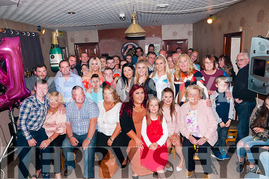 21st Birthday : Katie Neville, Tarbert celebrating her 21st birthday with family & friends at The Swankey Bar, Tarbert on Saturday night last.