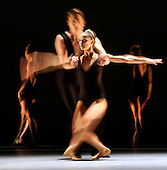 Scottish Ballet unveil their Autumn serason with dress rehearsals of Kings 2 Ends and Pennies from Heaven - at the Theatre Royal - Glasgow - Principal Dancer Sophie Martin in a scene from Kings 2 Ends - picture by Donald MacLeod - 28.9.11 - clanmacleod@btinternet.com 07702 319 738 donald-macleod.com