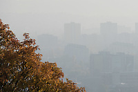 Foggy autumn view in Budapest, Hungary on Oct. 20, 2017. ATTILA VOLGYI